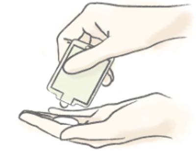 クレムドアン ミルククリームクレンジングの使い方1