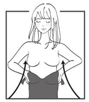 カーヴィーフィットの着用方法1