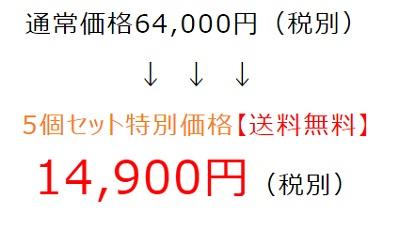 ディスコ(DICSO)5個セットの価格